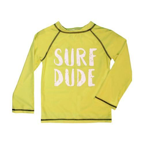 Mary Elyse Kids Dalton Long Sleeve Rashguard Yellow