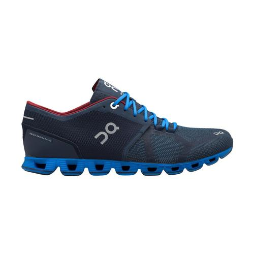 On Men's Cloud X Running Shoes Midnt.Cblt