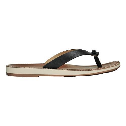 OluKai Women's Nohie Sandals Blk.Tan_4034