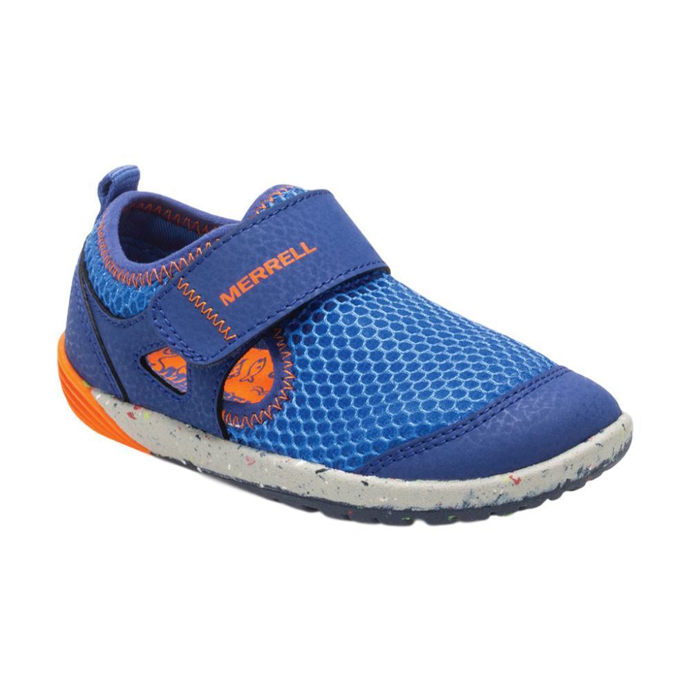 Merrell Little Kids Bare Steps H20 Shoes BLUEORANG