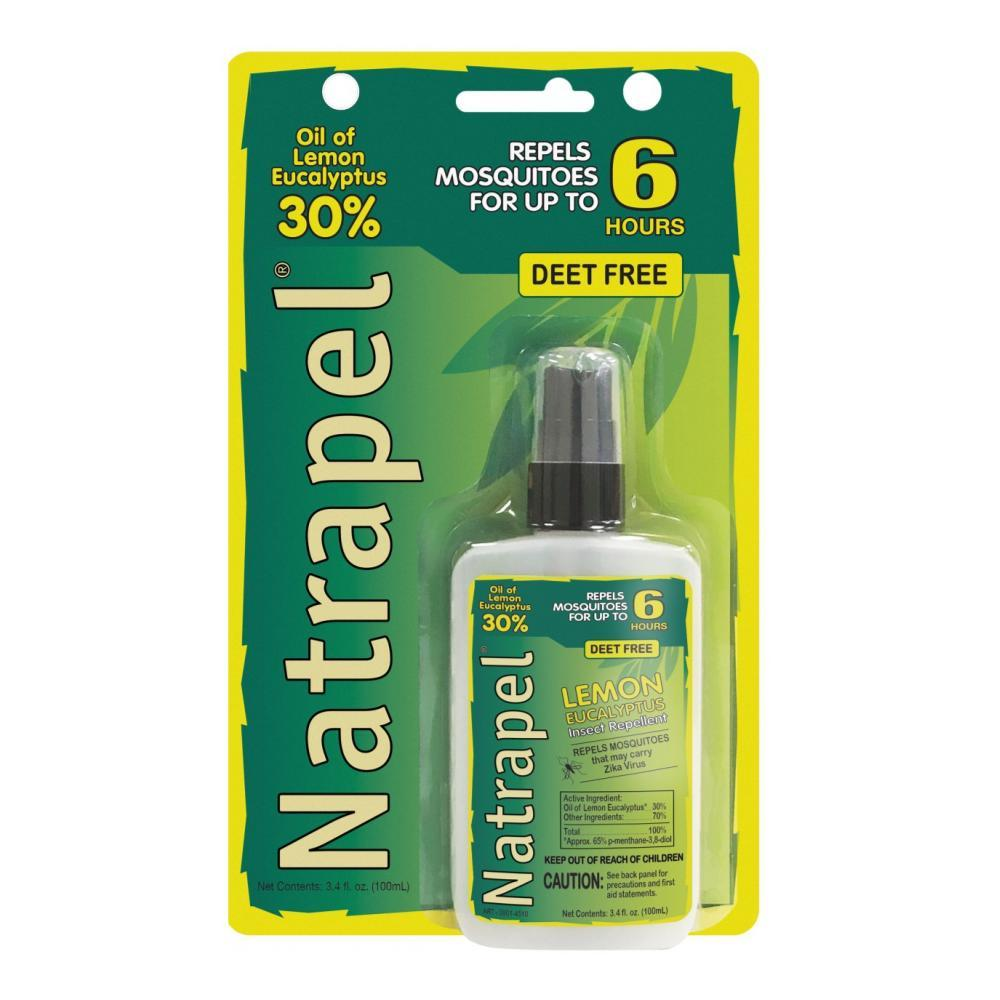 Natrapel Lemon Eucalytuptus Insect Repellent - 3.4oz