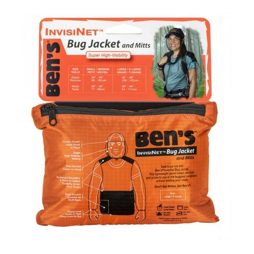 Ben's InvisiNet Bug Jacket & Mitts - L/XL