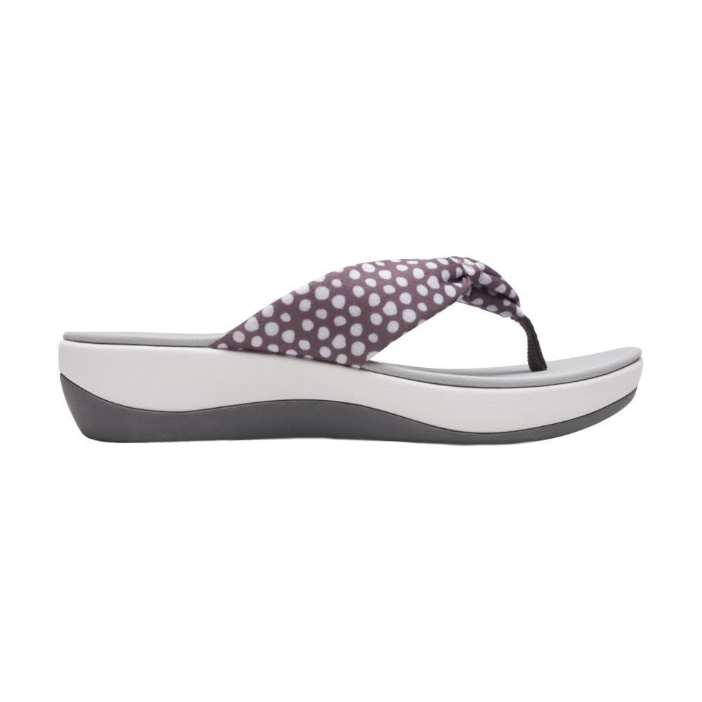 Clarks Women's Arla Glison Sandals GRYWHTDOT