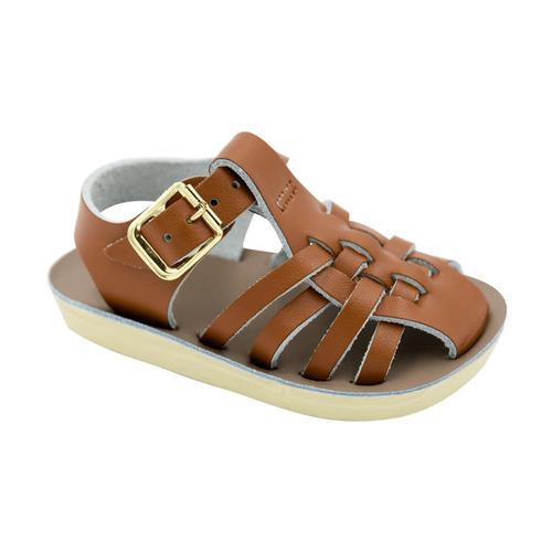 b46eb1ea0 Hoy Shoe Co Kids Sun-San Sailor Sandals Tan