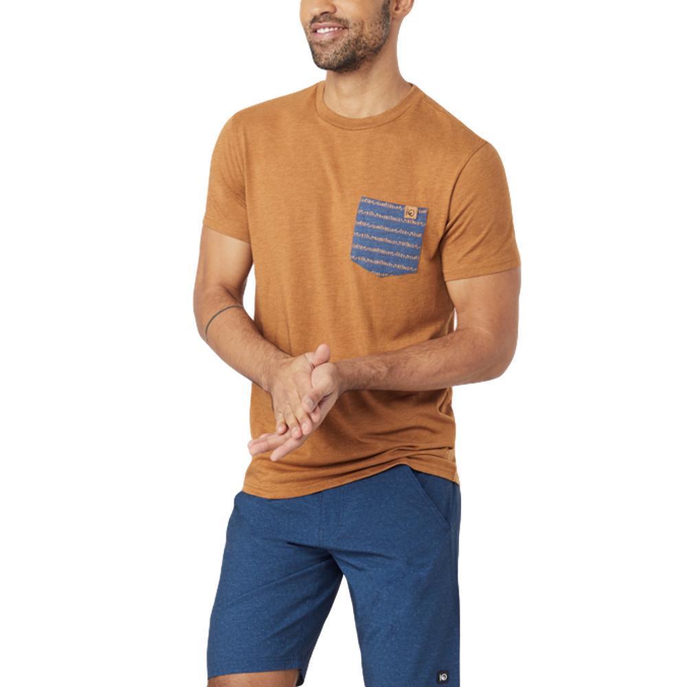 tentree Men's Renfrew Pocket T Shirt BRWNSU_BRN