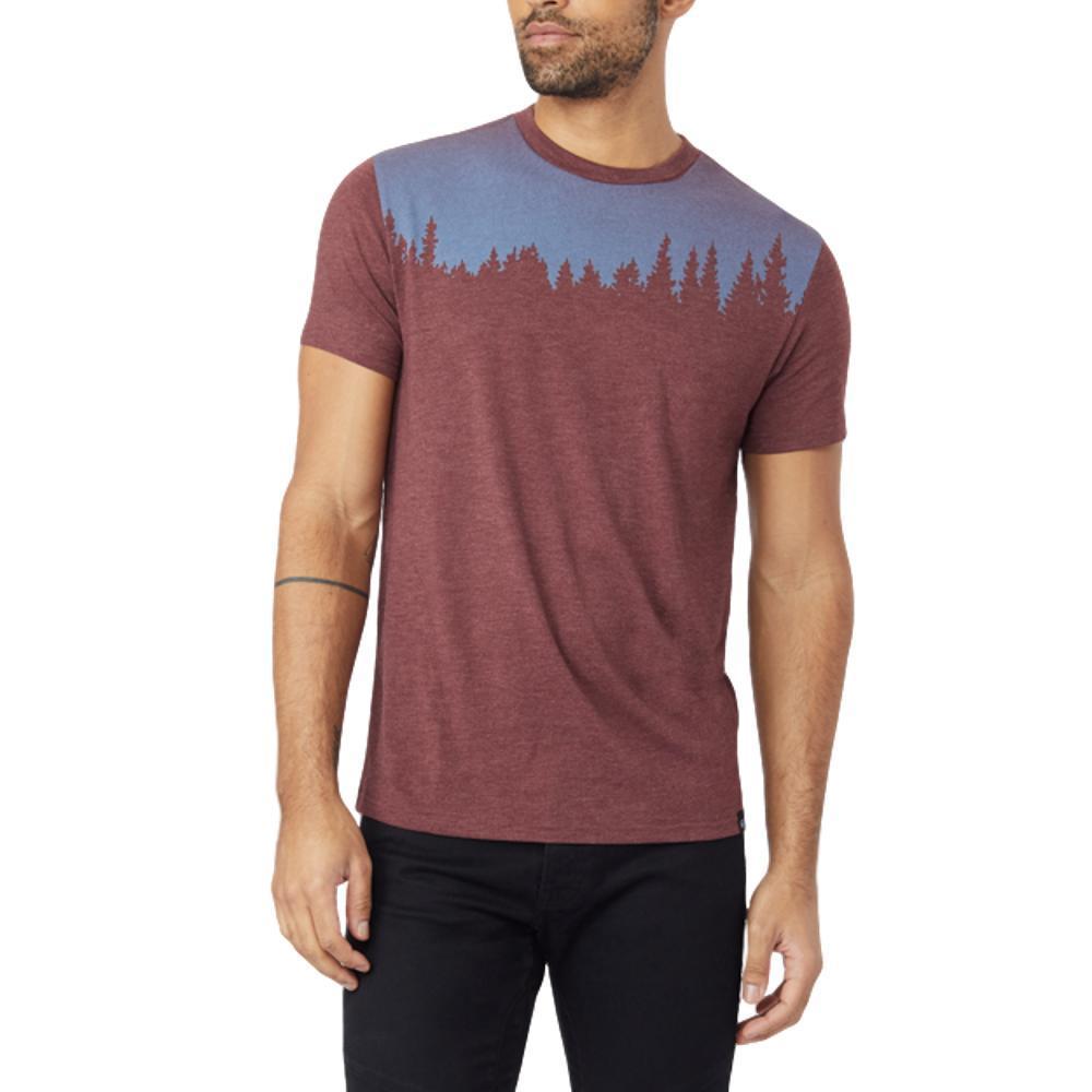 tentree Men's Juniper T Shirt REDMAH_RED