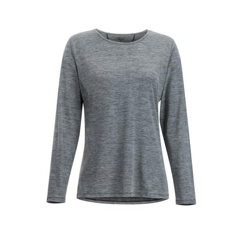 ExOfficio Women's Sol Cool Kaliani Long Sleeve Shirt Carbon
