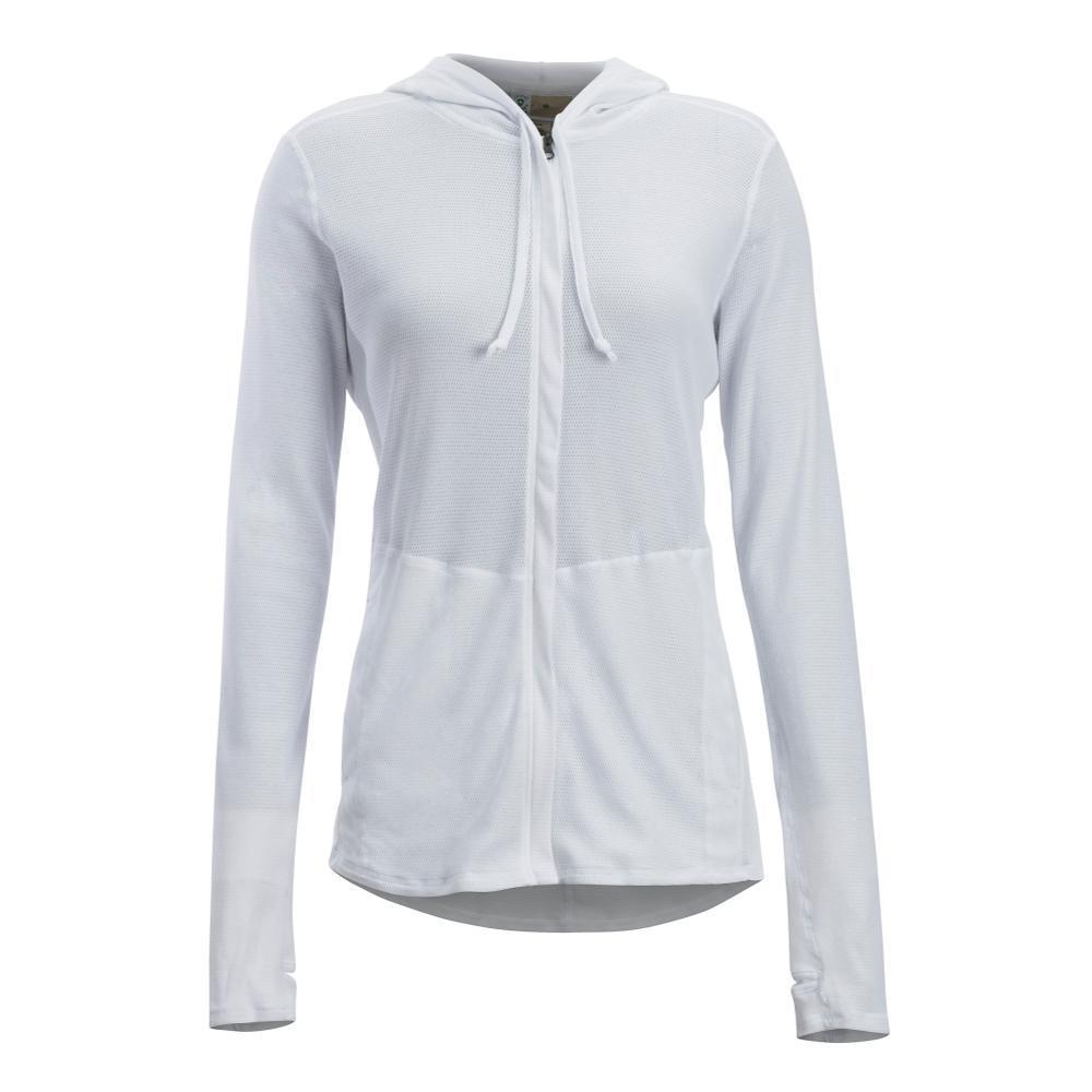 ExOfficio Women's BugsAway Lumen Full Zip Hoody WHITE