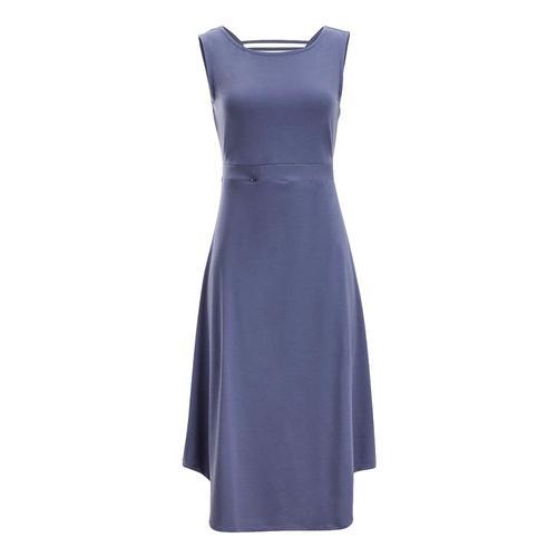 ExOfficio Women's Wanderlux Alessandria Dress Blueheron