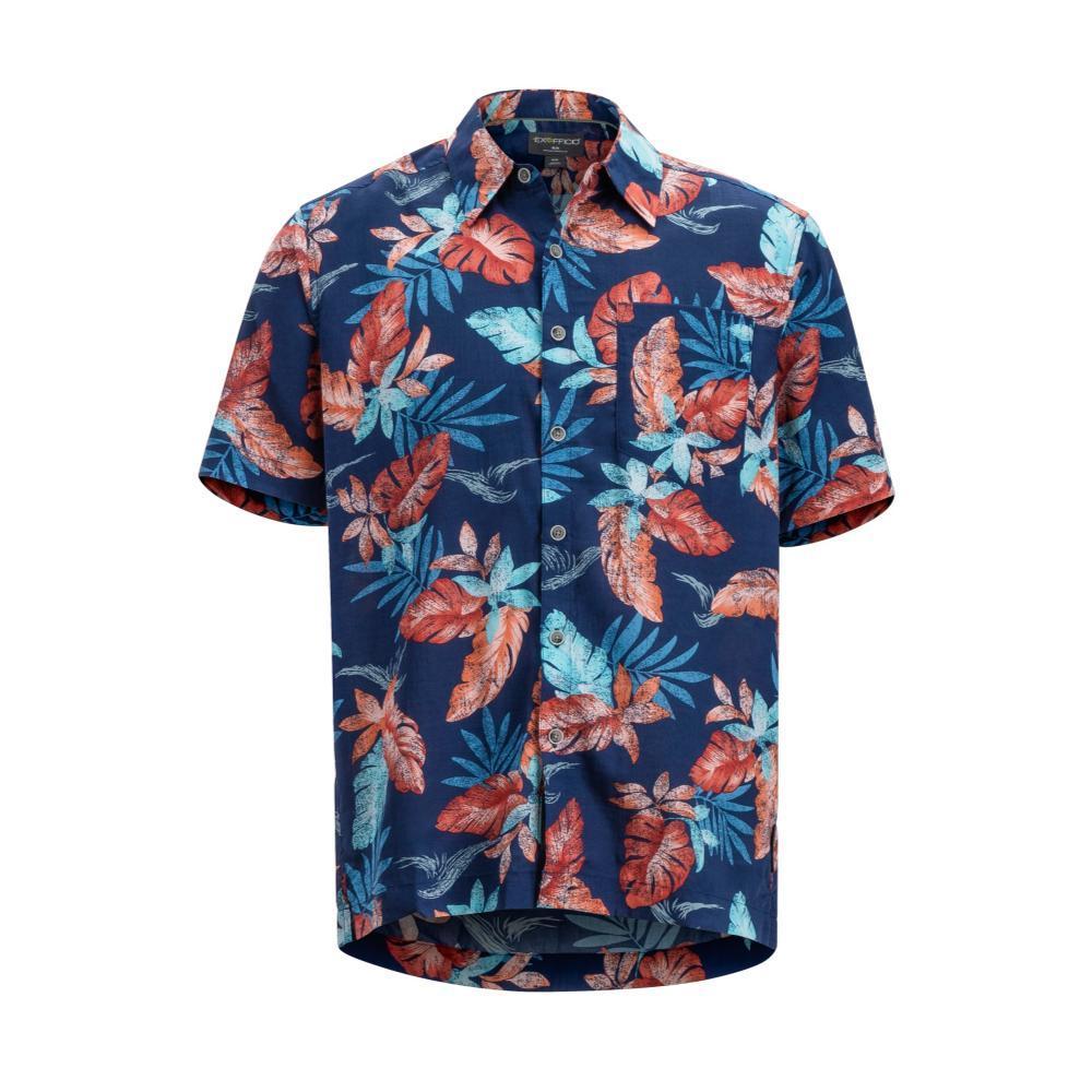 ExOfficio Men's Next-To-Nothing Pindo Print Short Sleeve Shirt INKTROPICOLA