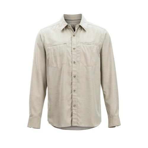 ExOfficio Men's BugsAway San Gil Long Sleeve Shirt Lt.Khaki