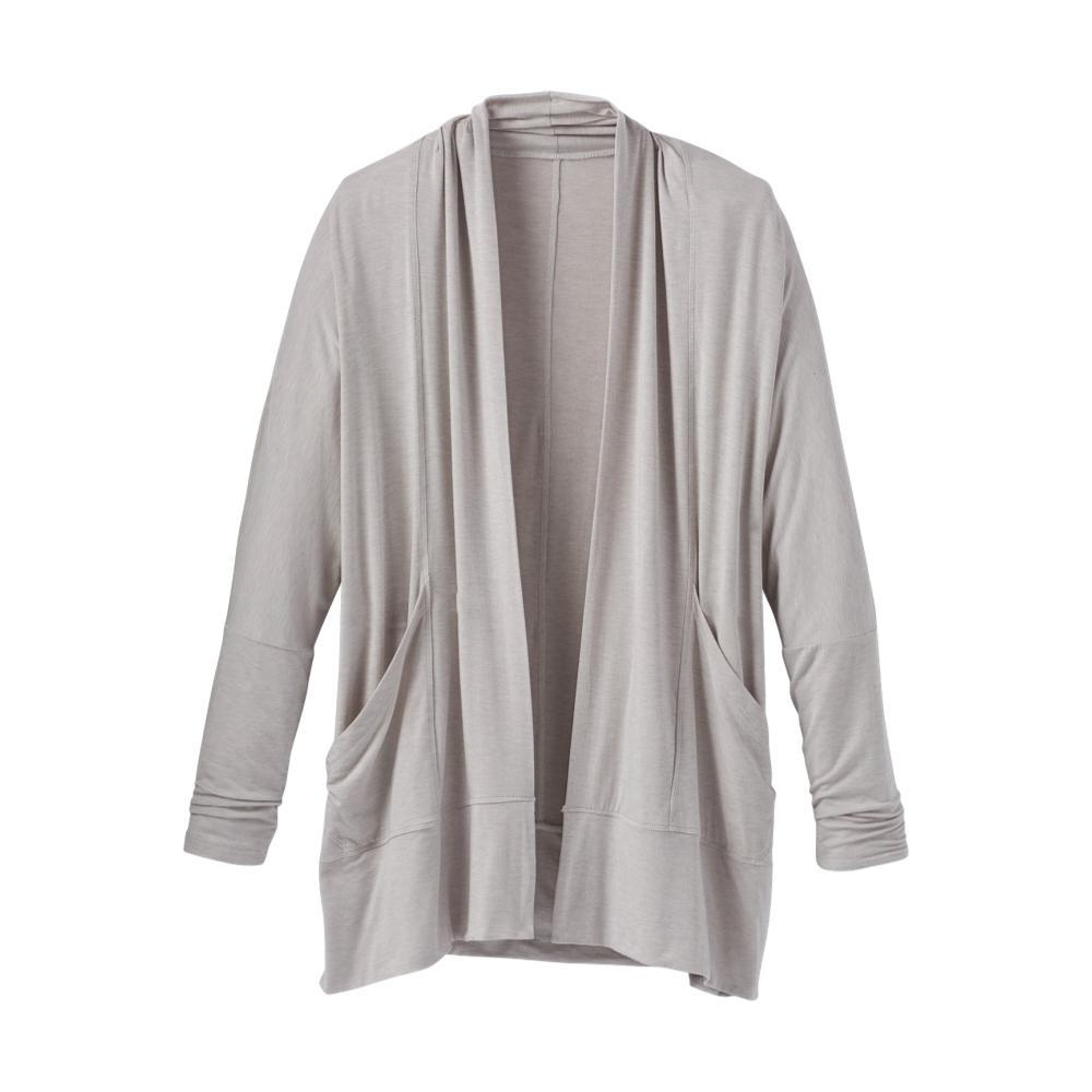 prAna Women's Foundation Wrap Plus Cardigan LTGREY