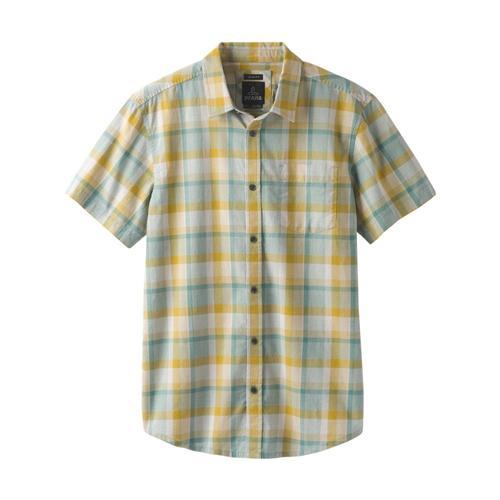 prAna Men's Bryner Shirt Ashy