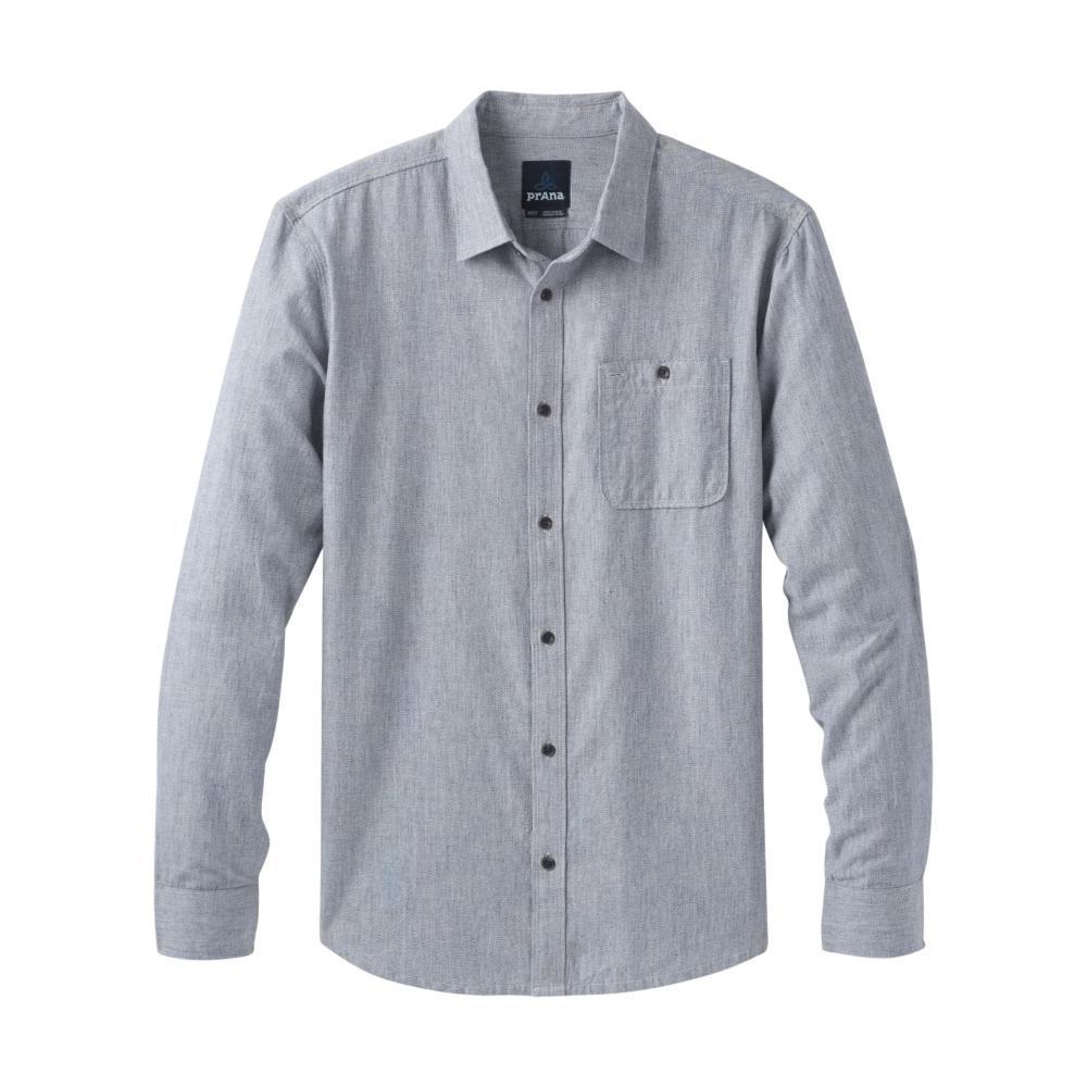 prAna Men's Jaffra Long Sleeve Shirt NAUTICAL