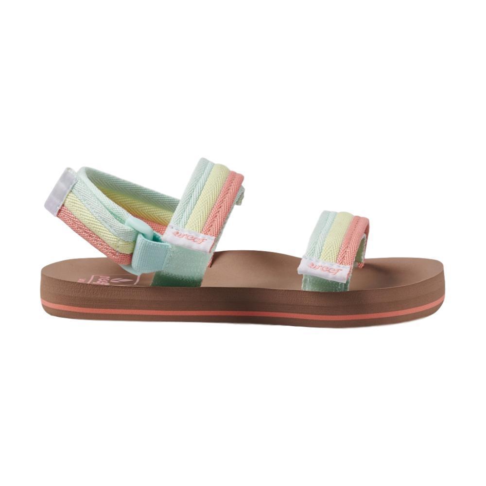 Reef Kids Little Ahi Convertible Sandals  RAINBW_RAI