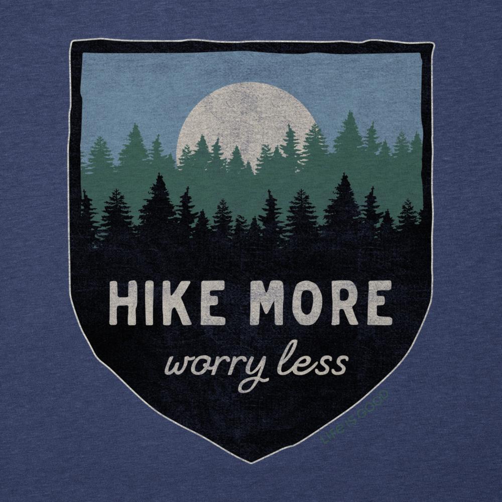Life Is Good Men's Hike More Cool Tee DARKESTBLU