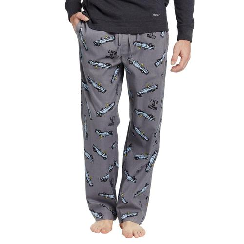 Life is Good Men's Air Conditioning Classic Sleep Pants Slgrycar