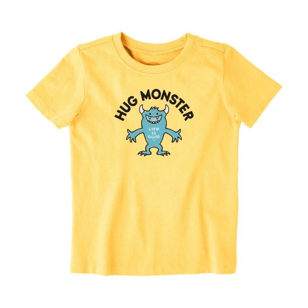 Life is Good Toddler Hug Monster Crusher Tee HPYYELLOW