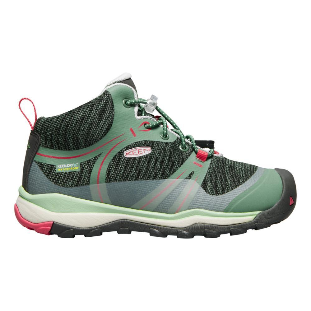 KEEN Big Kids Terradora Waterproof Mid Shoes DKGREEN