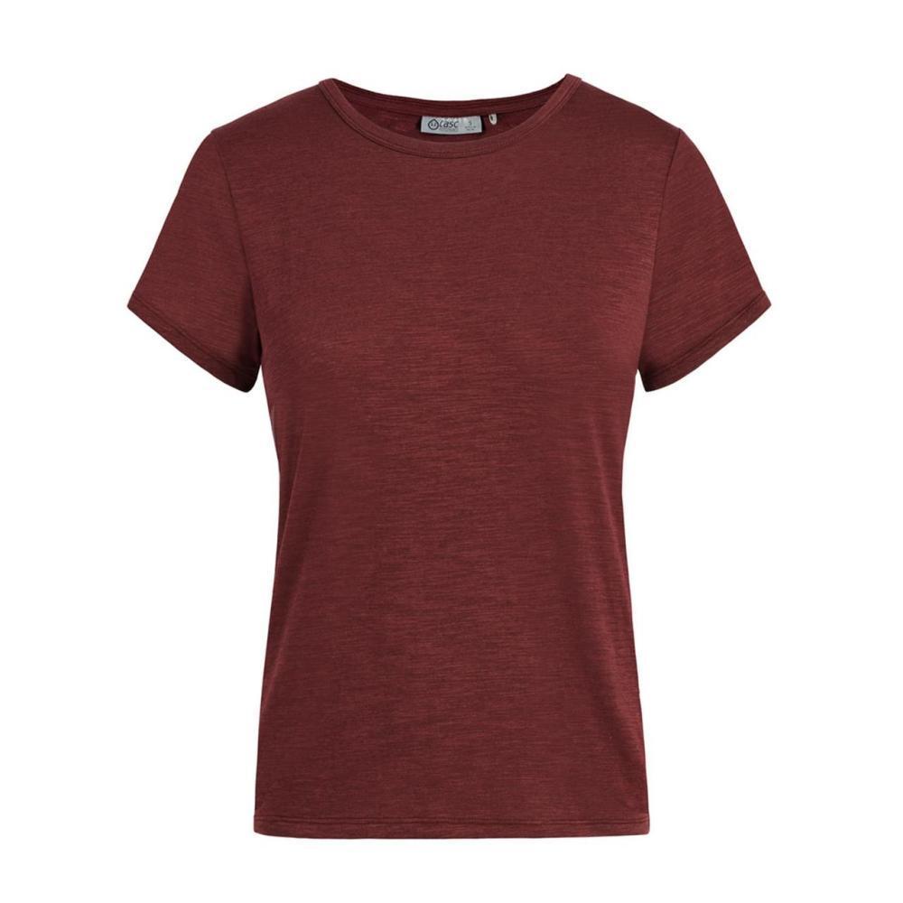 tasc Women's St. Charles Crew Short Sleeve T Shirt FIG