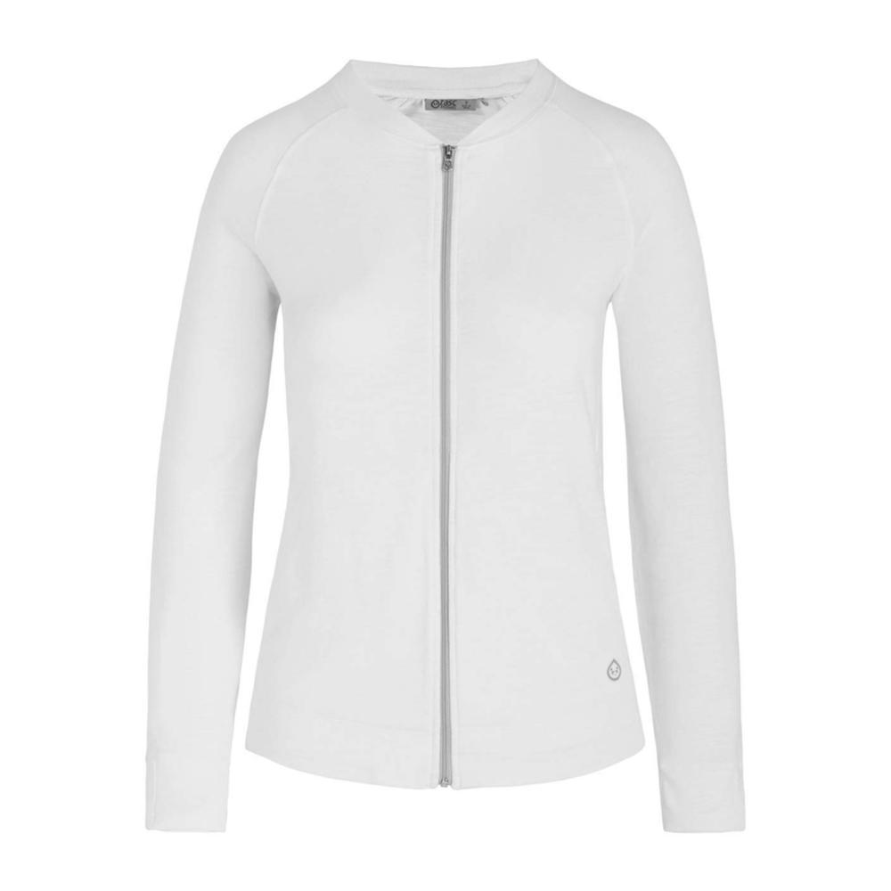 tasc Women's St. Charles Jacket WHITE