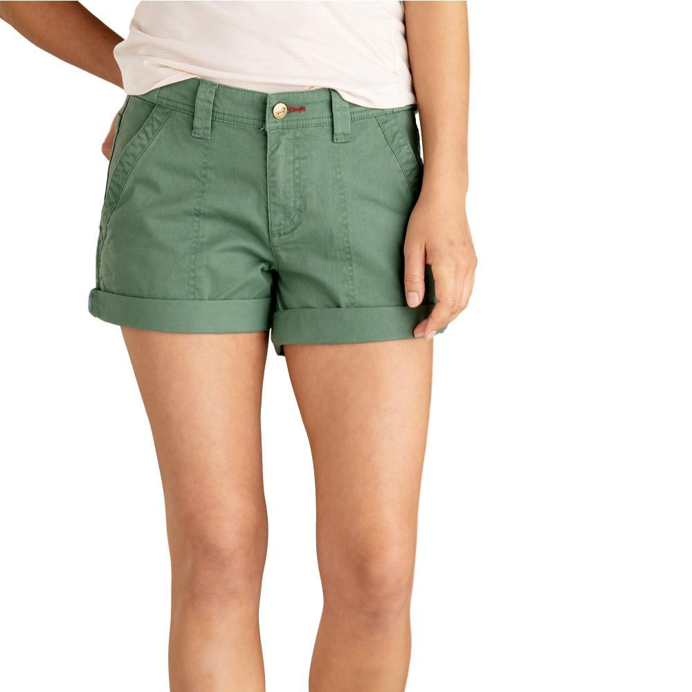 Toad&Co Women's Touchstone Camp Shorts DUCKGREEN