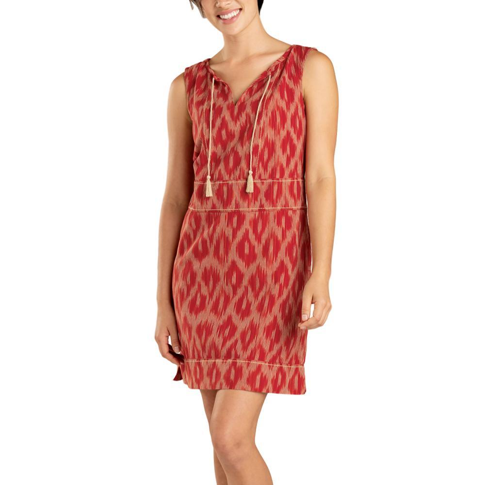 Toad&Co Women's Shakti Sleeveless Dress CORAL
