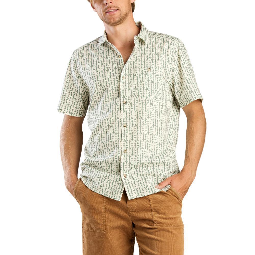 Toad&Co Men's Fletch Print Short Sleeve Shirt SALTARRW