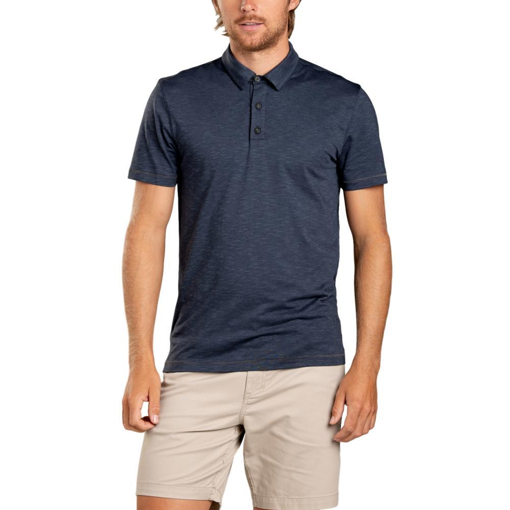 Toad&Co Men's Tempo Short Sleeve Polo NIGHTSKY