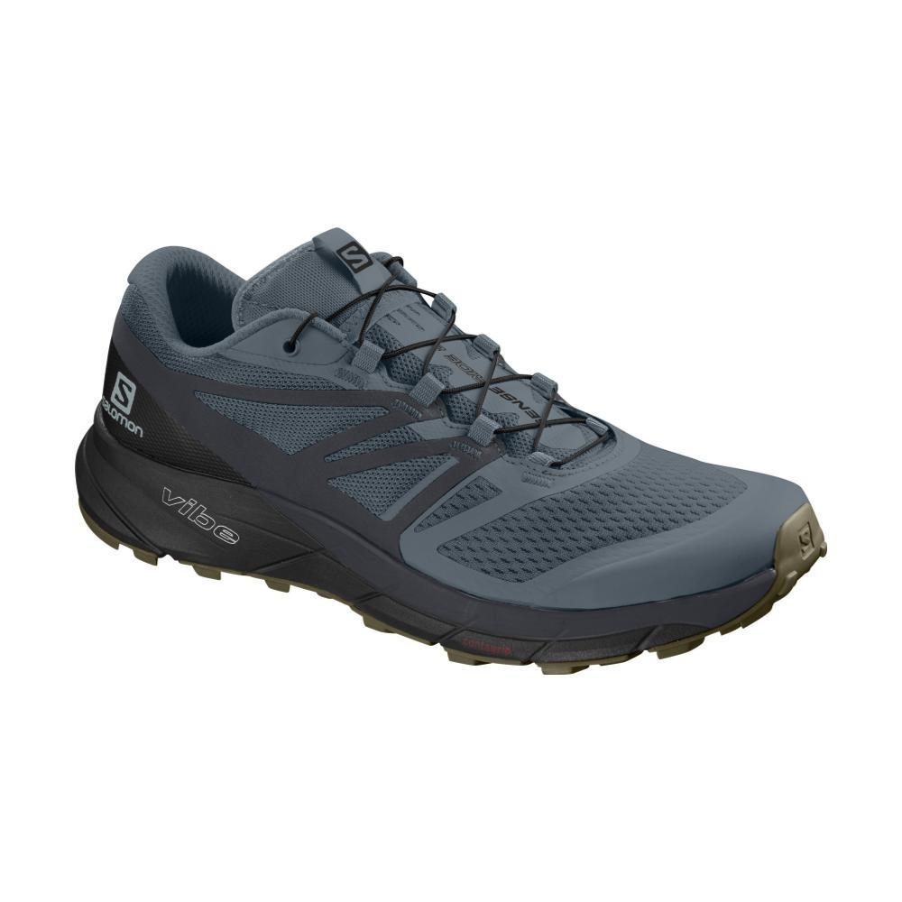 Salomon Men's Sense Ride 2 Trail Running Shoes STRM.EBNY.BLK