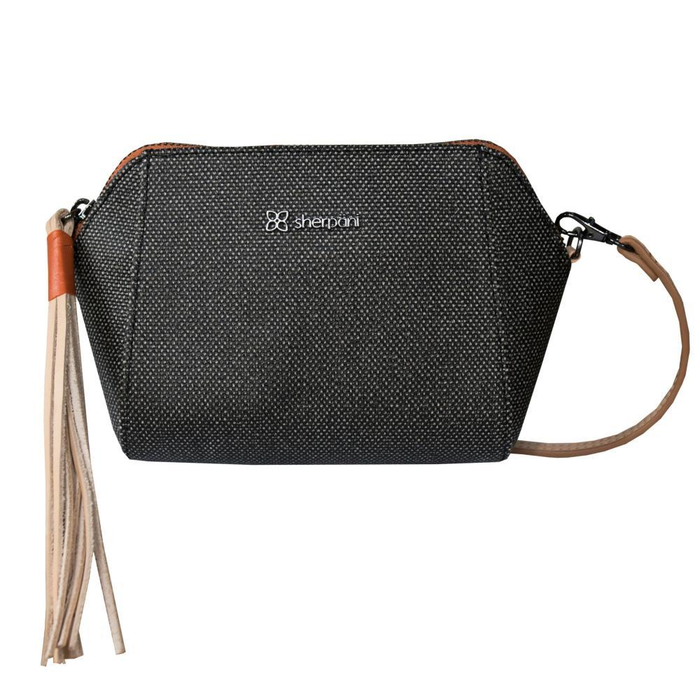 Sherpani Vibe Wristlet Crossbody Bag BLACKSTONE