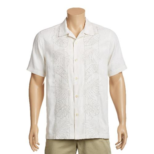 Tommy Bahama Men's Oceangrove Vines Camp Shirt Contwht