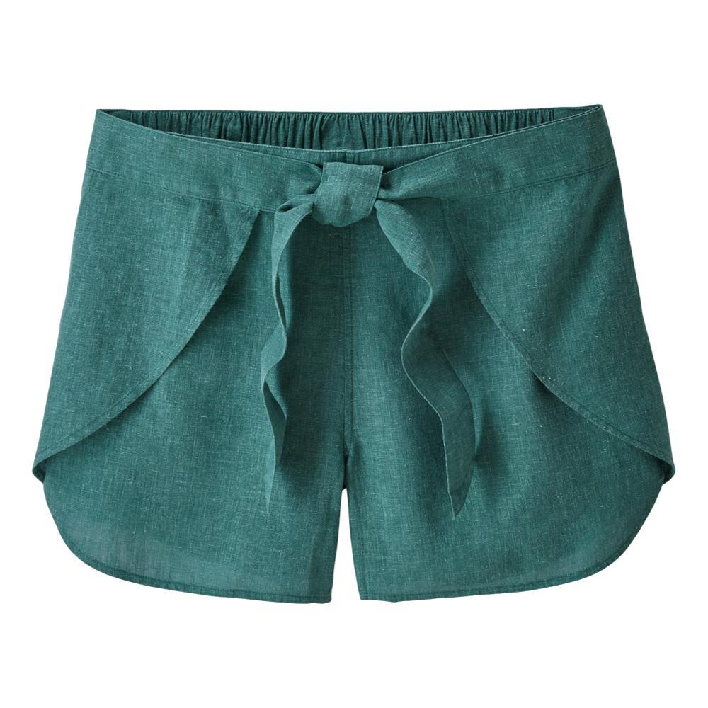 Patagonia Women's Garden Island Shorts WWTL_TEAL