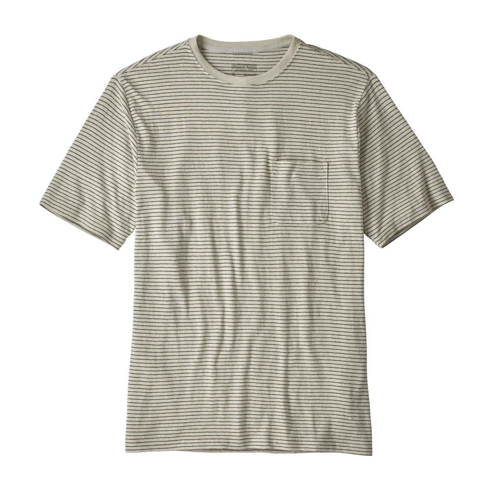 Patagonia Men's Trail Harbor Pocket Tee LBDY_WHI