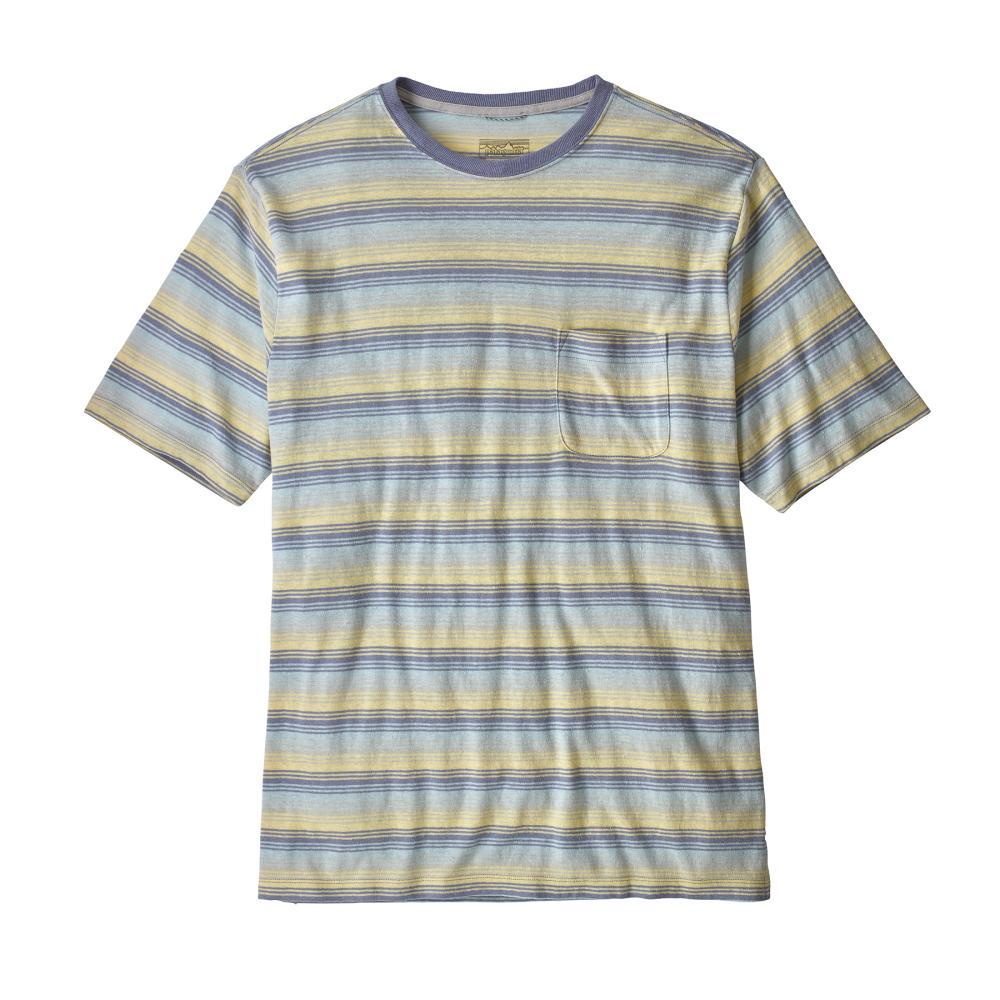 Patagonia Men's Trail Harbor Pocket Tee SCGP_PURP