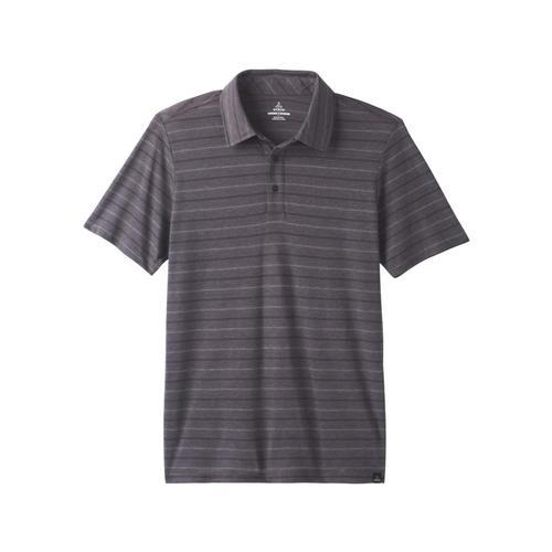 prAna Men's Neriah Polo Shirt Grantie