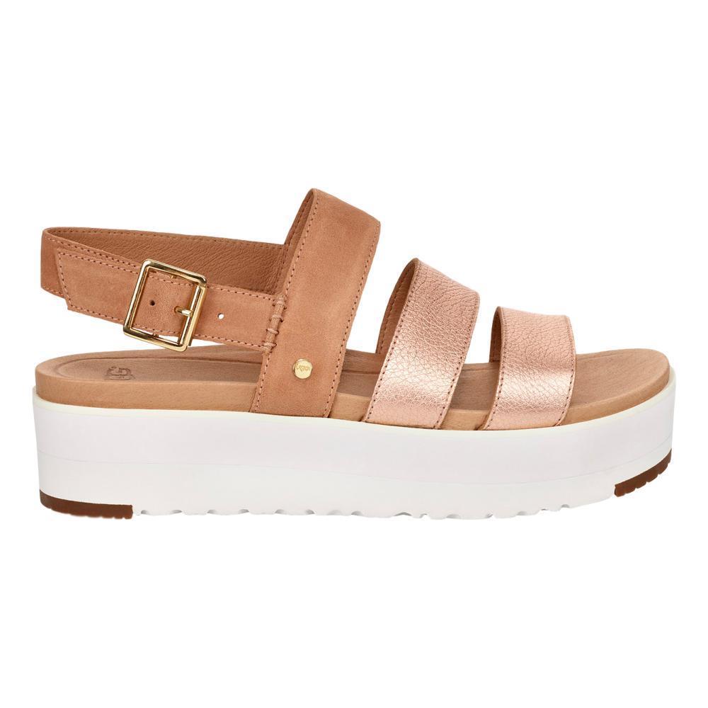 UGG Women's Braelynn Metallic Sandals ROSEGLD_RGL