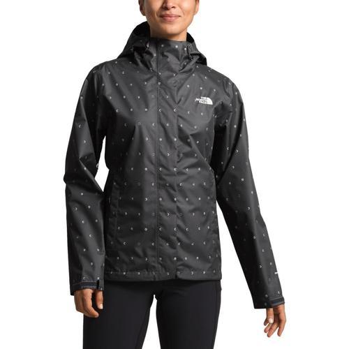 The North Face Women's Print Venture Jacket Grey_9vm