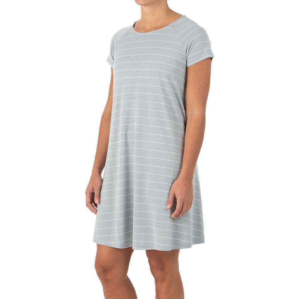 Free Fly Women's Bamboo Dockside Dress ASPENGRAY