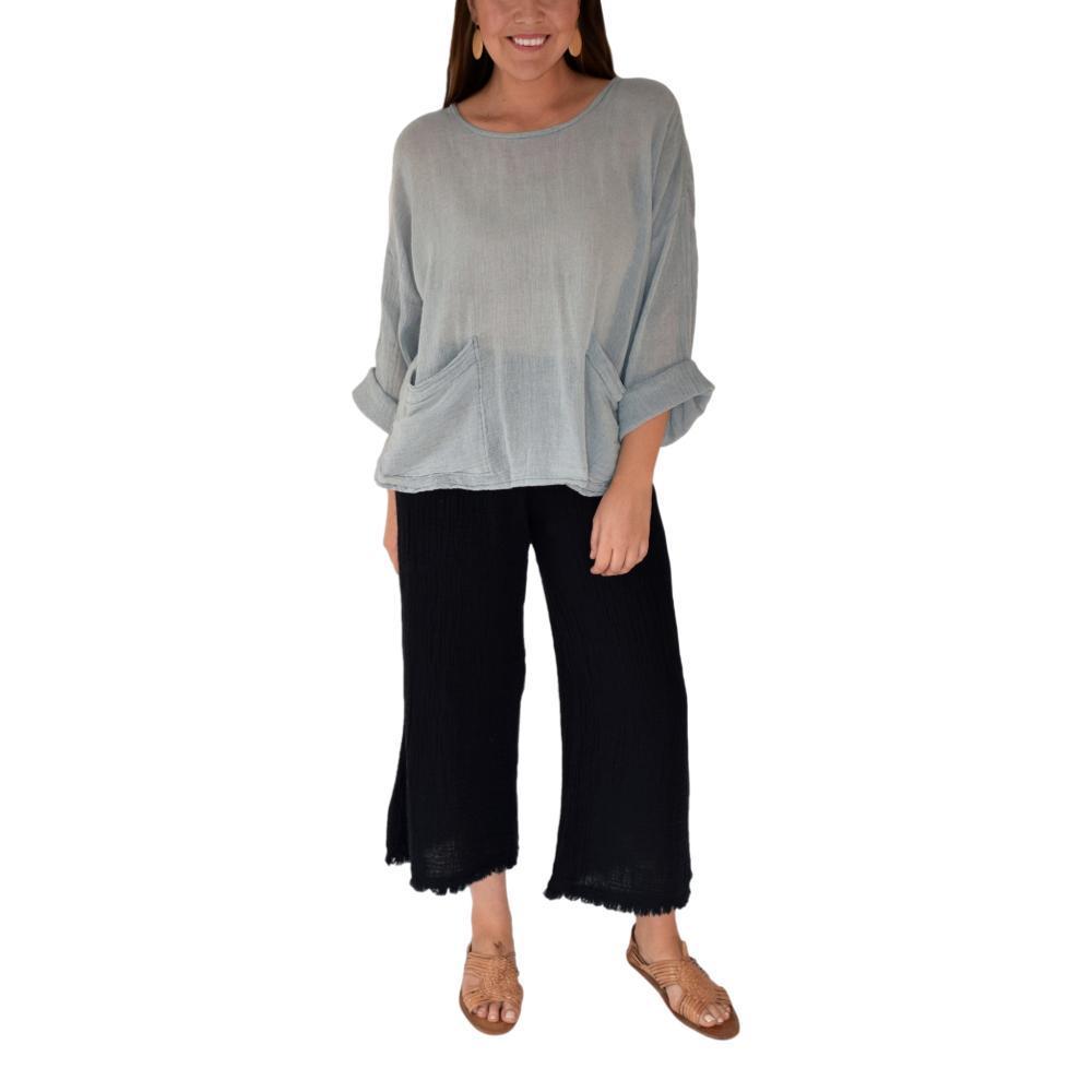 Honest Cotton Women's Beach Pocket Tunic GREY