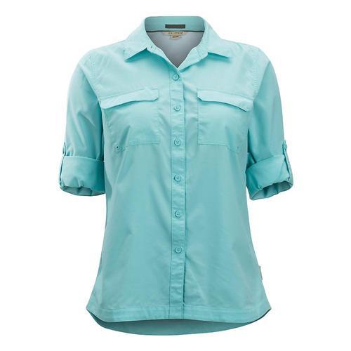 ExOfficio Women's Missoula Long Sleeve Shirt Mysticblue