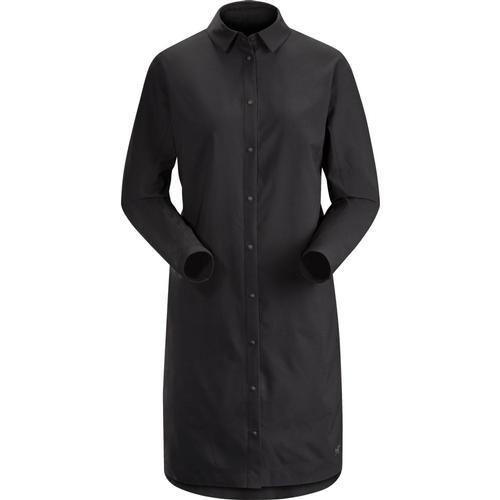 Arc'teryx Women's Contenta Long Sleeve Shirt Black