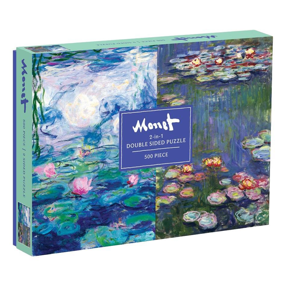 Chronicle Books Monet 500- Piece Double Sided Puzzle
