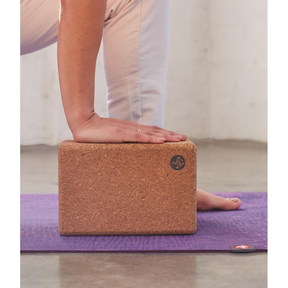 Manduka Cork Yoga Block NATURAL