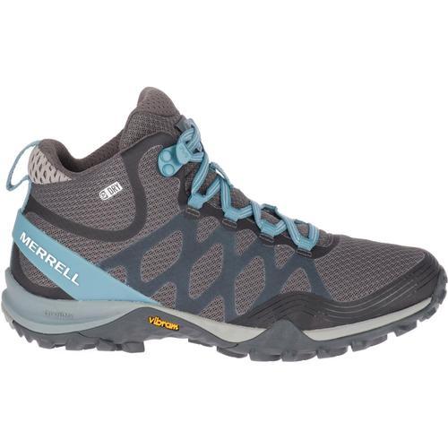 Merrell WomenÕs Siren 3 Mid Waterproof Hiking Boots Bluesmoke