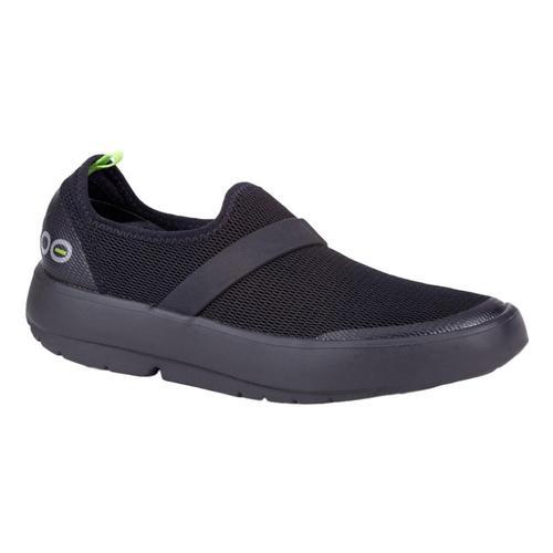 OOFOS Women's OOmg Low Shoes BLK.BLK