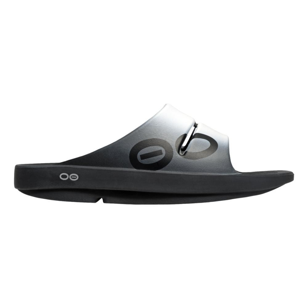 OOFOS Women's OOahh Sport Slide Sandals SMOKE