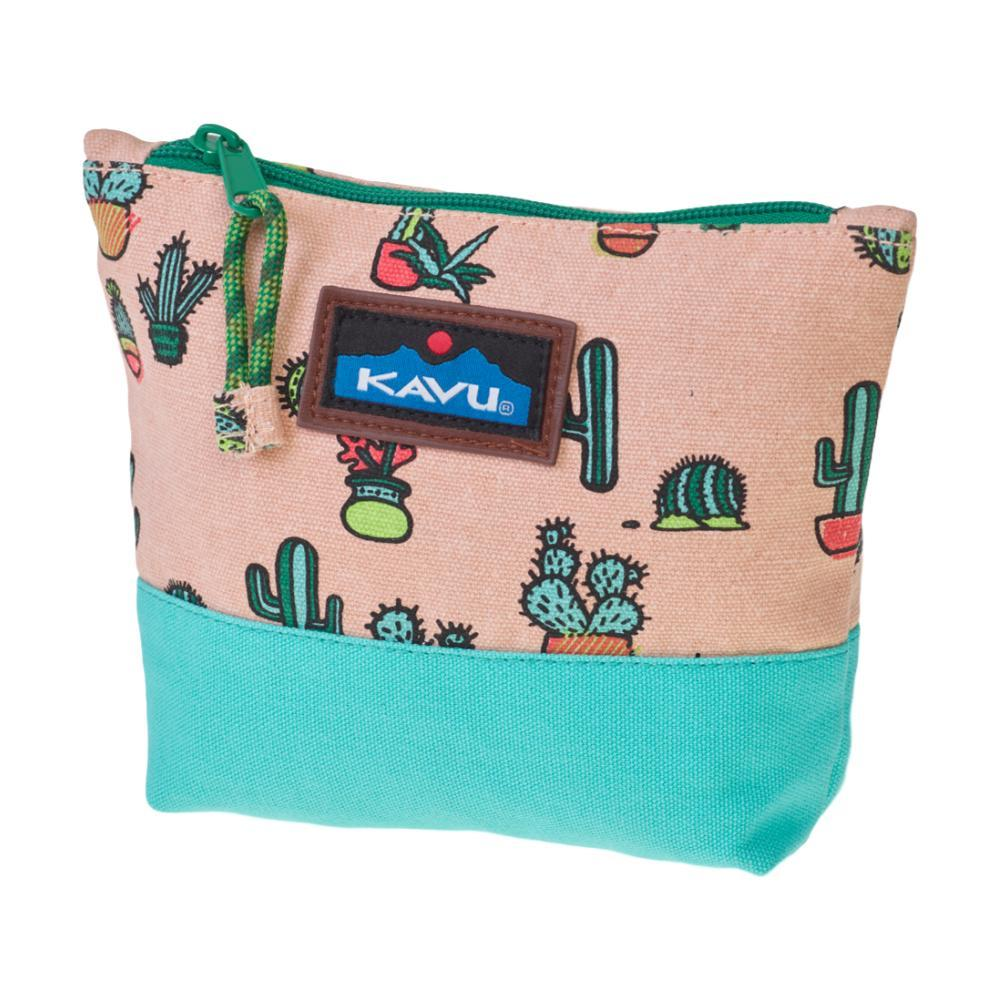 KAVU Quick Zip Pouch PRICKL_849