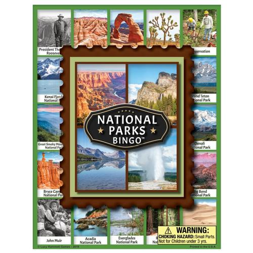 Lucy Hammett Games National Parks Bingo