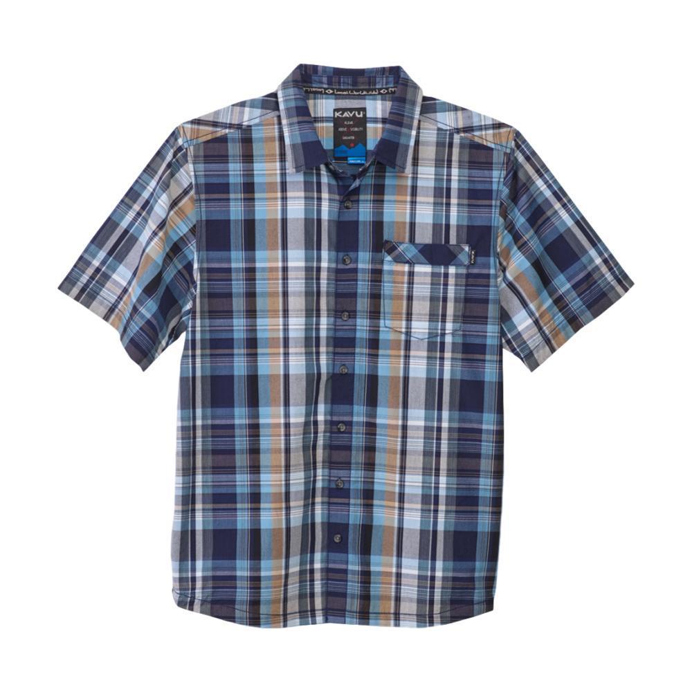 KAVU Men's Corbin Shirt MOONWALKPLAID